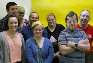 photo of the VALID8 team Zoe, Jenny, Greg, William, Sara, Anthony, Suzannah and AJ