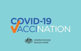 Covid-19 Vaccination logo Australian government
