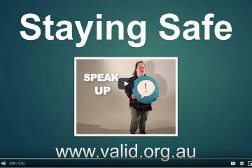 Staying Safe videos