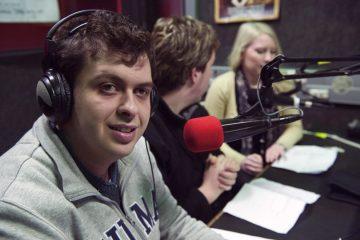 VALID staff speaking on radio